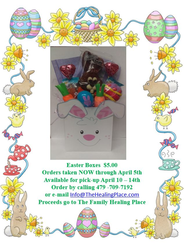 Easter Boxes Sparks Health System The Family Healing Place Fort Smith AR Flyer