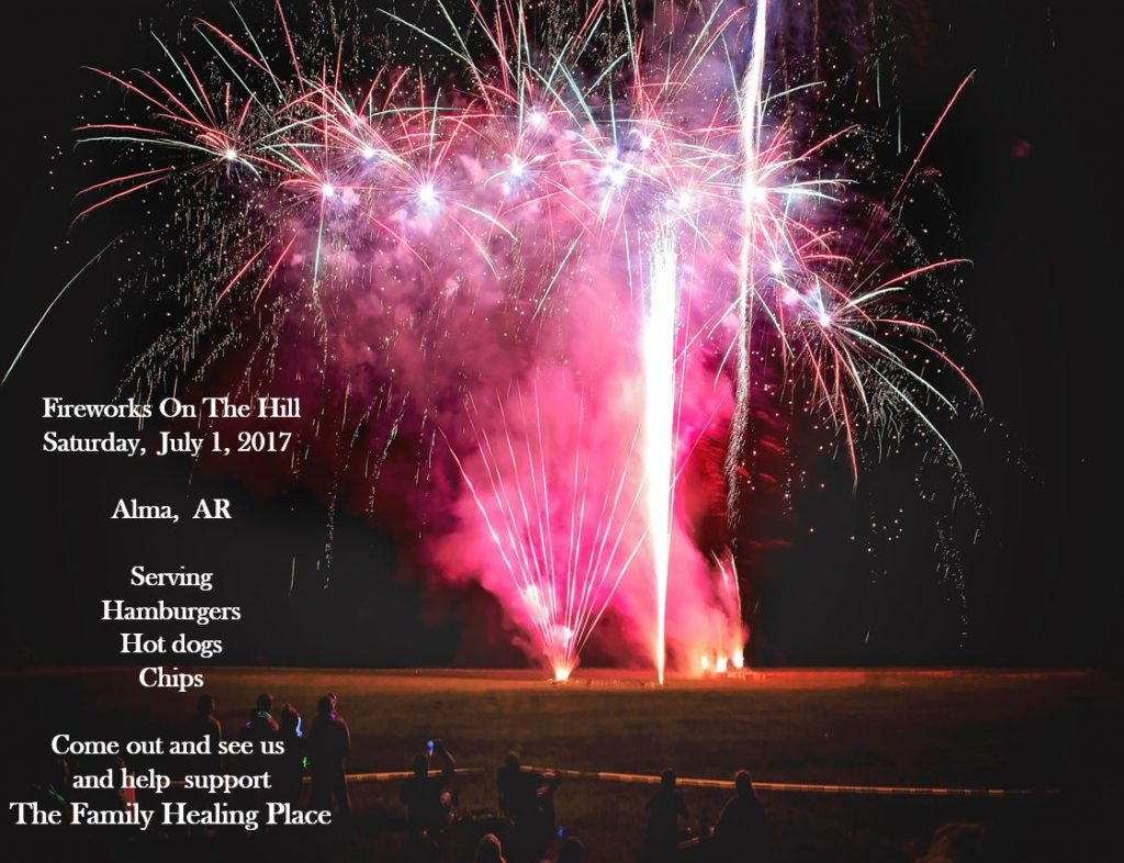 Fireworks on the Hill Fourth of July Sparks Health System The Family Healing Place Fort Smith AR Flyer